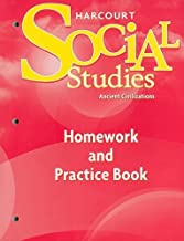 Harcourt Social Studies: Homework and Practice Book Student Edition Grade 7 Ancient Civilizations