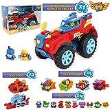 Pack SuperThings Serie 5 Hero Truck Monster Roller y 16 Sets