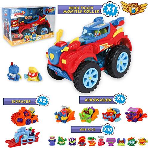 SuperZings Serie 5 - Hero Truck Monster Roller y Pack Sorpre
