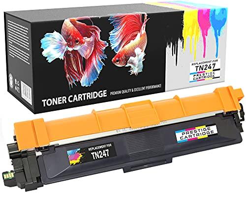 Prestige Cartridge Negro Tóner Alta Capacidad Compatible con para Brother DCP-L3510CDW, DCP-L3550CDW, HL-L3210CW, HL-L3230CDW, MFC-L3710CW, MFC-L3750CDW | TN-247 con Chip
