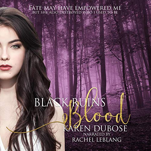Black Ruins Blood audiobook cover art