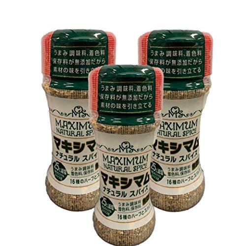 マキシマムナチュラルスパイス 減塩 50g ×3本