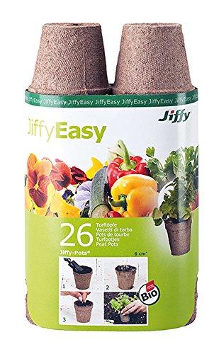 Jiffys - Jiffypot Redondo 6cm - 26u - Batlle
