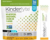 Kinderlyte Electrolyte Powder, Advanced Hydration, Easy Open Packets, Supplement Drink Mix (Lemonade, 16 Count)