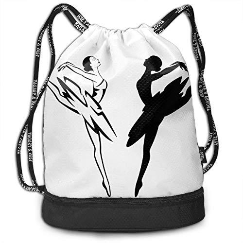 Rucksäcke,Sporttaschen,Turnbeutel,Daypacks, Ballet Dancer Clipart Bundle Backpack Fashion Travel Backpack