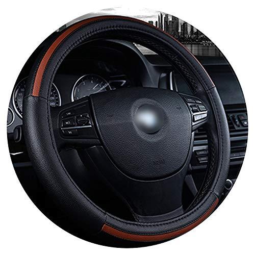 Ablaze Jin Cubierta para volante de coche, estilo deportivo, suave, antideslizante, para volante de 38 cm/15, estilo de coche, 5