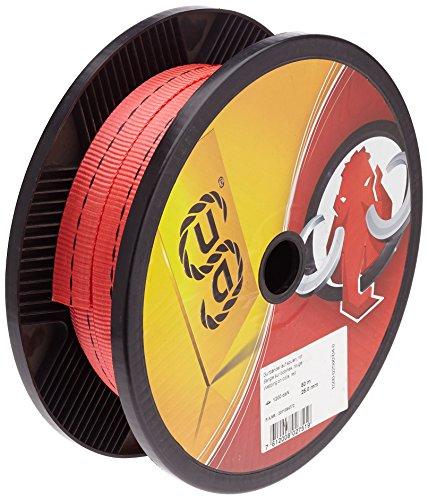 mamutec Gurtbänder, 1 Stück, 25 mm Breite, rot, 1500-02500-04-0