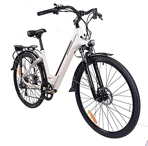 """E-Bike Elektrofahrrad """"Trekking"""" 27,5 Zoll Pedelec E-Fahrrad Fahrrad Elektro mit integriertem Akku Damenrad"""