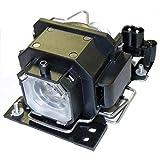 HFY marbull DT00781 - Lámpara de proyector con alojamiento compatible con HITACHI CP-RX70 / CP-X1 / CP-X2 / CP-X253 /...