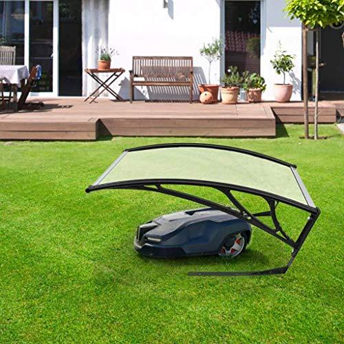 IWQTO FKDENA Roboter-Rasenmäher Vordach Carport Rasenmäher Dach for Rasen Roboter Rasenmäher, Canopy Arch Schutz Schutz vor