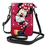 Cute Mickey Mouse Cell Phone Purse Shoulder Bag Travel Daypack Women Girls Party Gift
