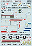 Print Scale 72-192 1/72 Scale Decal for Airplane - US Air Force F-4 Phantom War