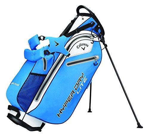 Callaway Hyper Dry Lite Tasche für Golfschläger, Herren Einheitsgröße Blau / Schwarz / Silberfarben