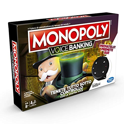 Hasbro E4816IT4 Monopoly - Voice Banking (Gioco in Scatola Elettronico)