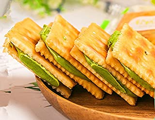 Chinese Nougat Biscuits with Matcha Taste 180g (6.3oz)
