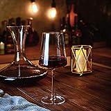 Amisglass Weingläser 500 ml, 6er Set Weinglas für Rotweine und Weißweine, bleifreie & transparente Weinkelche, spülmaschinenfeste Cabernet-Rotweingläser, hochwertige & elegant - 7