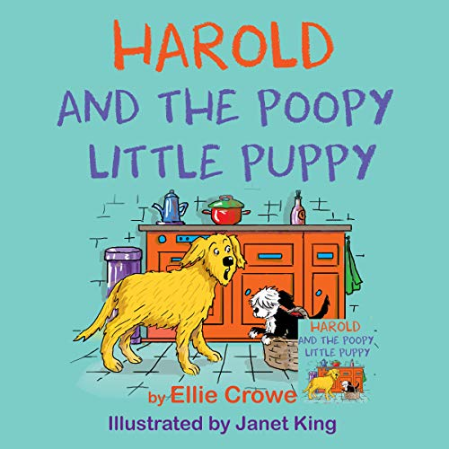 Harold and the Poopy Little Puppy audiobook cover art