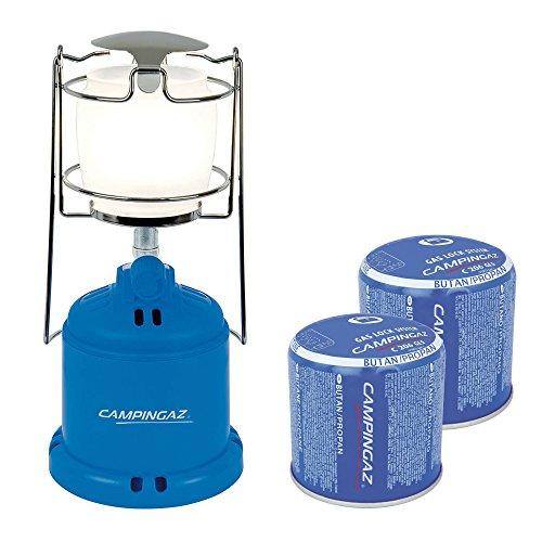 CampingazCamping 206L Gaslampe Bundle inklusive 2X C206 Gaskartusche