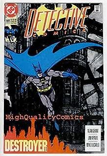 DETECTIVE #641, VF, Batman, Alan Grant, Destroyer, more BM in store