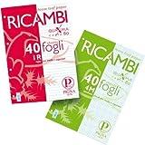 Ricambi ad anelli per quaderni Pigna A5 4 mm 00629044M (conf.40)