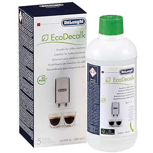 De'Longhi - Líquido descalcificador EcoDecalk para cafetera (500 ml) - SER3018