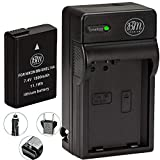 BM Premium EN-EL14A, EN-EL14 Battery and Charger for Nikon D3100, D3200, D3300, D3400, D3500, D5100, D5200, D5300, D5500, D5600, DF, Coolpix P7000, P7100, P7700 Digital SLR Cameras