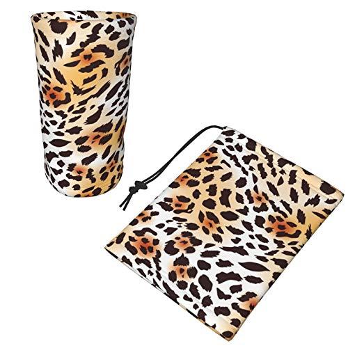 Kids Neck Gaiter Cheetah Skin Face Covering for Children Bandana Face Scarf Headband Black