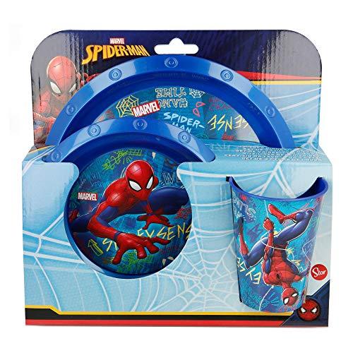 Spiderman - 37915 - Jeu de Société - Set Vaisselle
