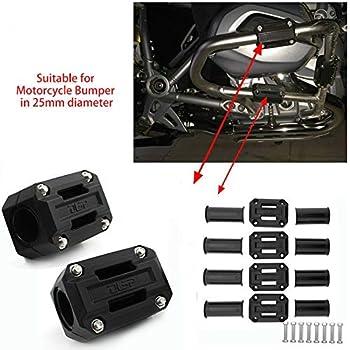 Honda Africa Twin CRF1000L// NC700X KTM Duke 1190//690 22mm 25mm 28mm DUCATI Triumph Suzuki V-Strom DL1000 Engine Guard Bumper Crash Bar Slider KAWASAKI VERSYS-X 300 for BMW F700GS// R1200GS