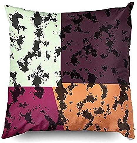 Throw Pillow Case Vintage Vera Neumann Colorful Pop Art Throw Pillow Cover Decorative For Home Sofa Bedding 12x12inch Amazon Co Uk Kitchen Home