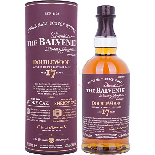 The Balvenie 17 Years Old Double Wood 43,00% 0,70 Liter