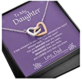 KINDPAW to My Daughter Heart Necklace from Dad