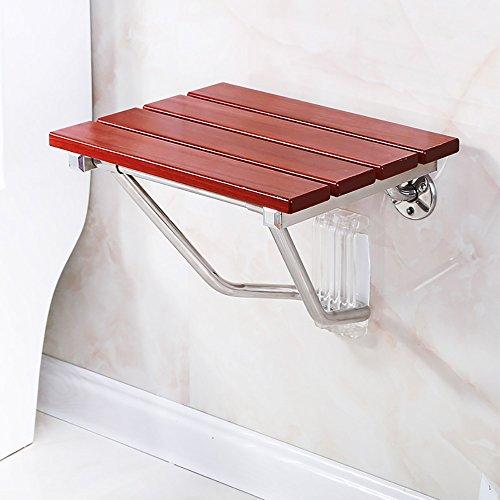LJHA Tabouret pliable Tabouret créatif en bois massif/chaise de douche/tabouret allée/tabouret de chaussures pliable changement (4 tailles en option) chaise patchwork (taille : 38 cm)