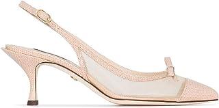 Luxury Fashion | Dolce E Gabbana Women CG0369AX0478D183 Pink Leather Heels | Spring-summer 20