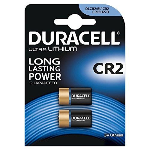 Duracell–Lote de 5Juegos–Juego de 2Pilas Photo Lithium Ultra CR2