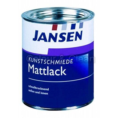 JANSEN Kunstschmiede-Mattlack 750ml anthrazit mit Eisenglimmer