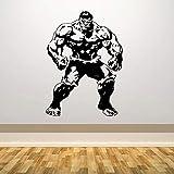 wZUN Etiqueta engomada del Vinilo del héroe Gigante cómic increíble Etiqueta de la Pared del Dormitorio decoración Regalo 42X57cm