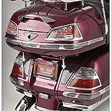 Show Chrome Accessories LED Saddlebag Light Set (Chrome) Compatible with 01-10 Honda GL1800