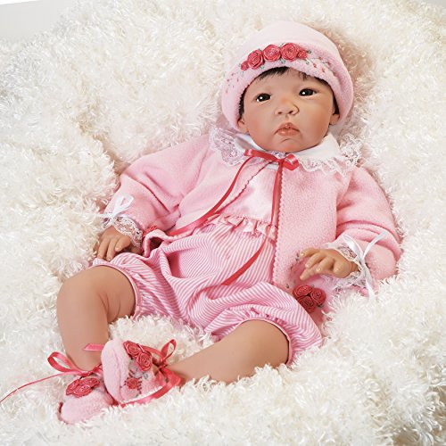 Paradise Galleries Asian Baby Doll, Nischi, 21 inch, So Lifelike and Realistic (Artist: Jannie Delange) by Paradise Galleries