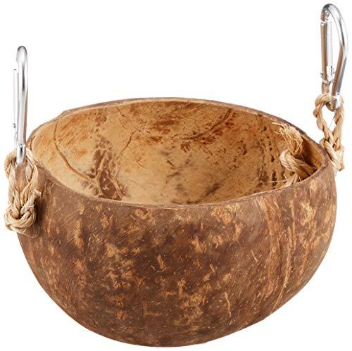 レインボー小動物のココナッツのおうちココナッツポット