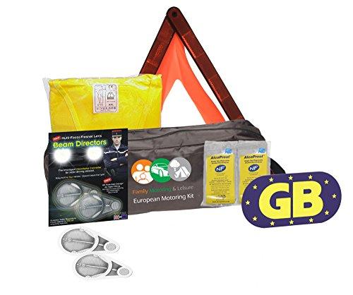 NEW européenne Kit de voyage pour tous vous avez besoin pour l'européenne lentille Fresnel + Lot de 2 éthylotests NF