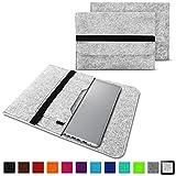 NAUC Notebook Tasche kompatibel mit Acer Swift 1 2 3 5 7 14 Zoll Hülle Filz Sleeve Hülle Schutzhülle Cover, Farben:Hell Grau