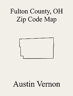 Fulton County, Ohio Zip Code Map: Includes Pike, Chesterfield, Franklin, Gorham, Swan Creek, Clinton, German, York, Dover, Amboy, Fulton, and Royalton