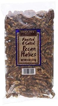 Trader Joe s Roasted & Salted Pecan Halves  8 oz