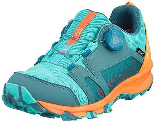 adidas Terrex Agravic Boa R.RDY K, Zapatillas de Trail Running Unisex Adulto, ESMBRU/MENACI/NARCHI, 39 1/3 EU