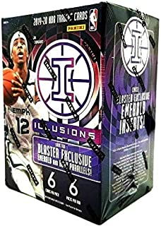 2020 Panini Illusions NBA Basketball BLASTER box (36 cards/bx)