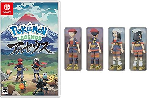 Pokémon LEGENDS アルセウス -Switch (【早期購入特典】プロモカード「アルセウスV」 ×1 同梱)【Amazon.co.jpオリジナル特典】着物セット ガブリアスが先行入手できるコード 配信