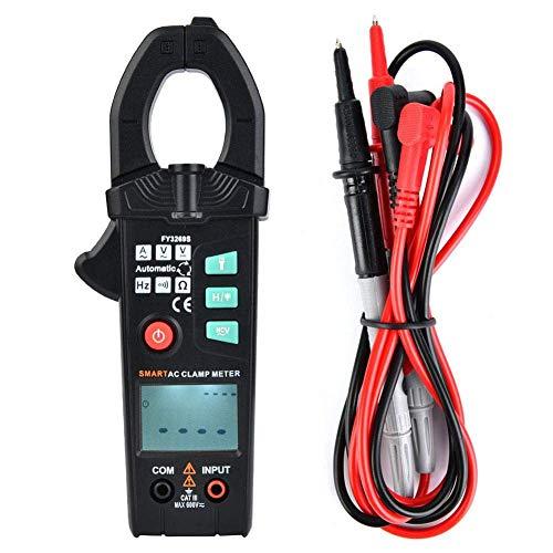JIAHONG Multímetro Pinza multímetro digital, Pinzas amperimétricas automático de alta precisión inteligente portable de la abrazadera probador Multímetros Digital