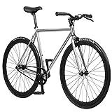 Pure Fix Original Fixed Gear Single Speed Bicycle, Romeo White, 50cm/Small