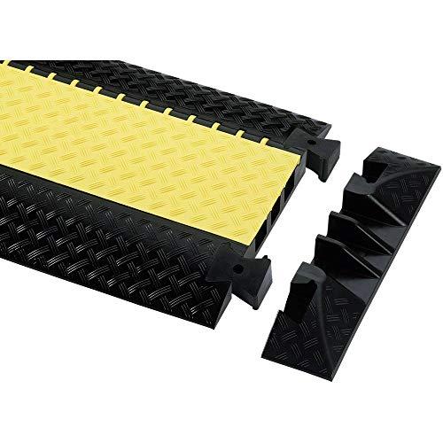 adam hall 85008 - Accesorio (Acople de final de cables, Negro, Snap-on, Defender III, 600 mm, 73 mm)